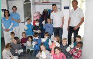 Kindergartenkinder besuchten am 14.3.2017 Zahnarztpraxis Dr. Buob